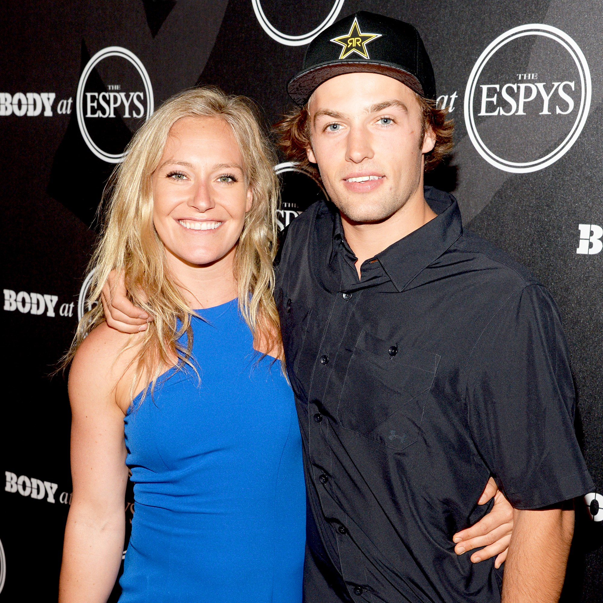 Jamie Anderson and Tyler Nicholson at the BODY at ESPYS 2016 Event at Avalon in Hollywood, California.